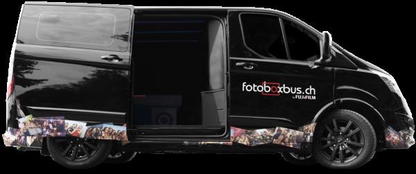 Fotobox Party Bus - bitte einsteigen